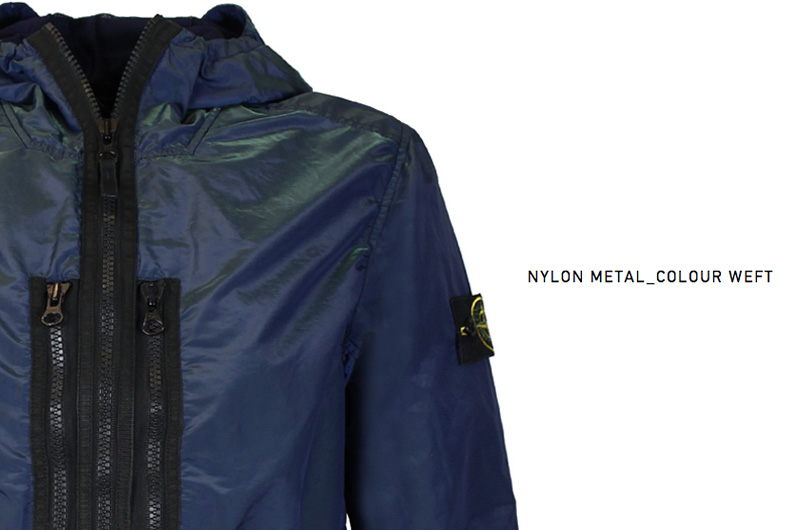Stone Island Nylon Metal_Colour Weft