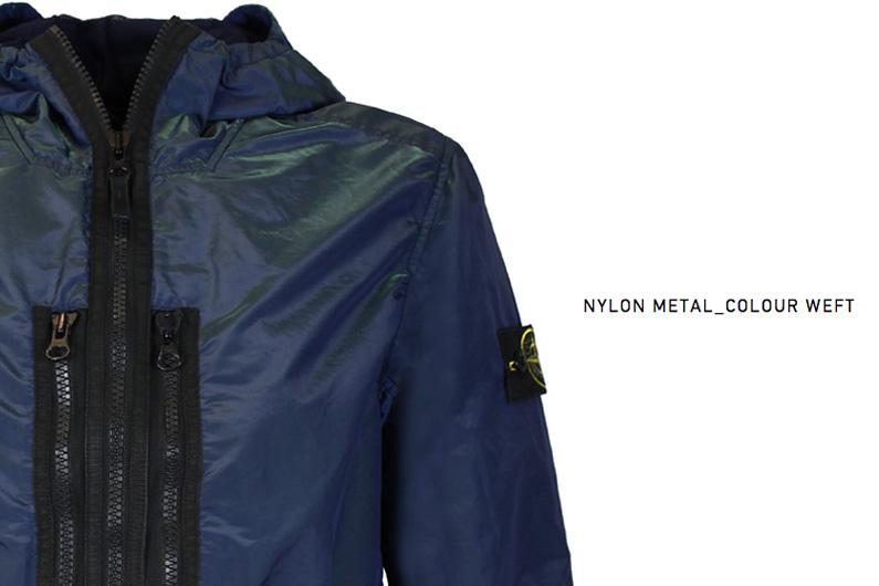 Stone Island Nylon Metal_Colour Weft