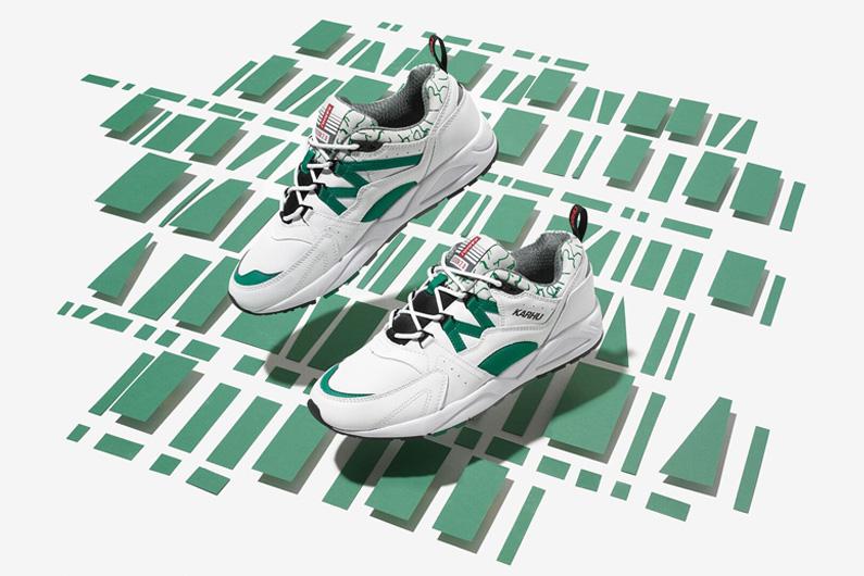 "Karhu Fusion 2.0""OG"" White/Ultramarine Green"