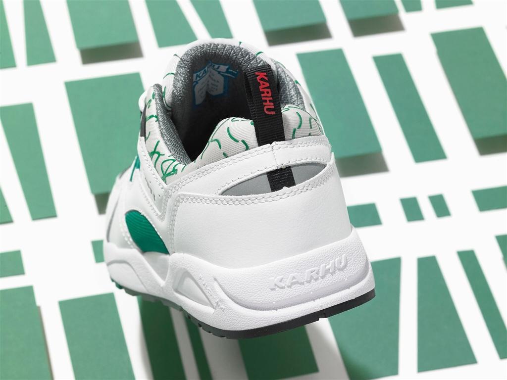 "Karhu Fusion 2.0 ""OG"" White/Ultramarine Green 2"