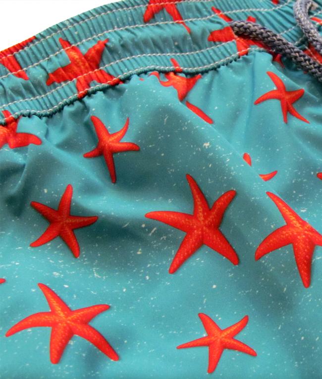 Baia 30 Remi - Saldi - shorts mare in nylon traspirante a fantasia 1