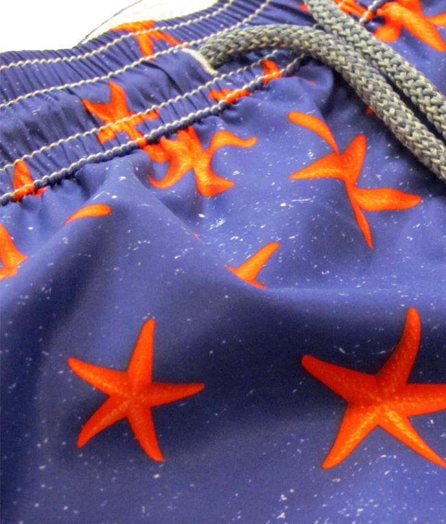 - Outlet - shorts mare in nylon traspirante a fantasia 1
