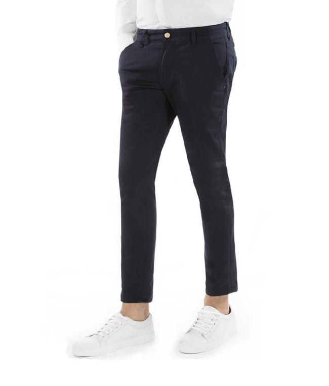 Entre Amis - Outlet - pantalone nisida corto blu