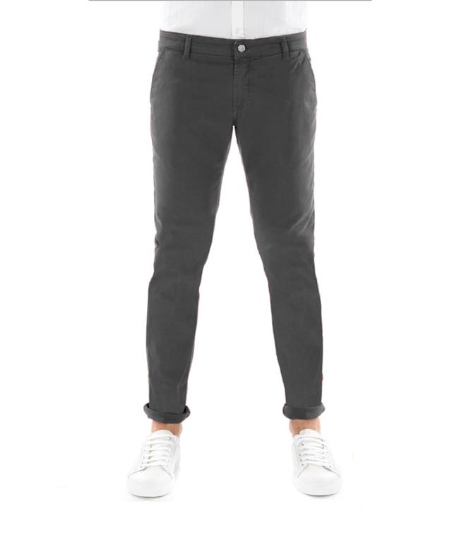 Entre Amis - Outlet - pantalone tk america corto grigio scuro