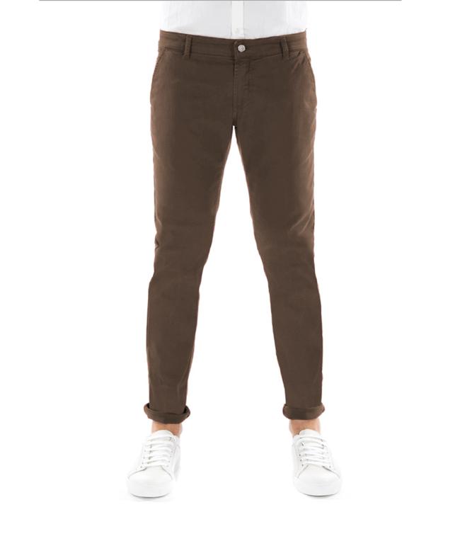 Entre Amis - Outlet - pantalone tk america corto cioccolata