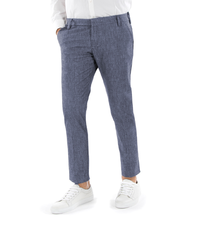 Entre Amis - Outlet - pantalone t. america lungo blu