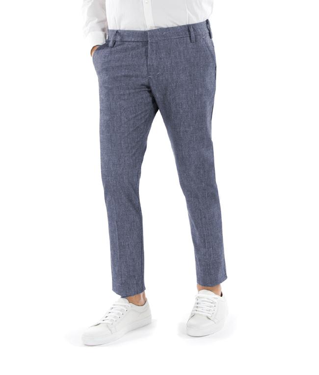 Entre Amis - Outlet - pantalone t. america lungo blu