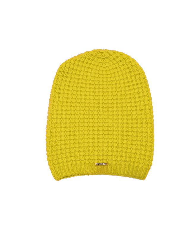 Bark - Outlet - cappello lungo in lana giallo