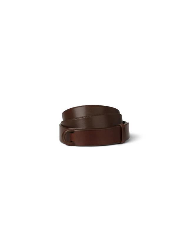 "Orciani - Cinture - cintura nobuckle ""bull"" in cuoio bruciato"
