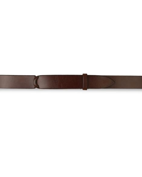 "Orciani - Cinture - cintura nobuckle ""bull"" in cuoio bruciato 1"