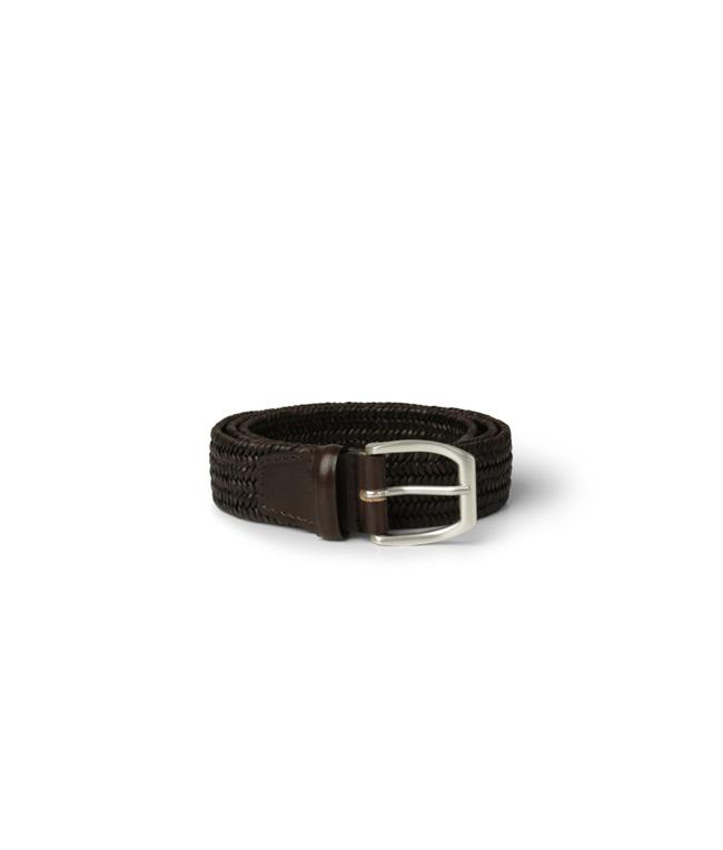 """Orciani - Cinture - cintura """"wide"""" in pelle elasticizzata t. moro"""