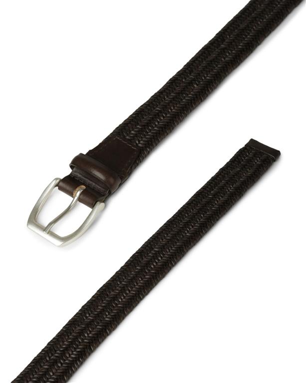 """Orciani - Cinture - cintura """"wide"""" in pelle elasticizzata t. moro 1"""
