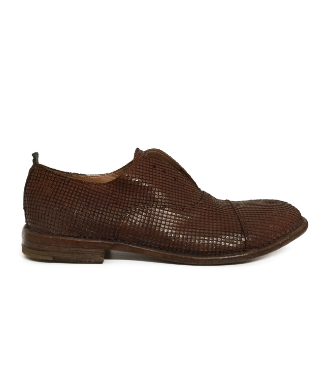 - Outlet - scarpa chiusura alla francese cuoio