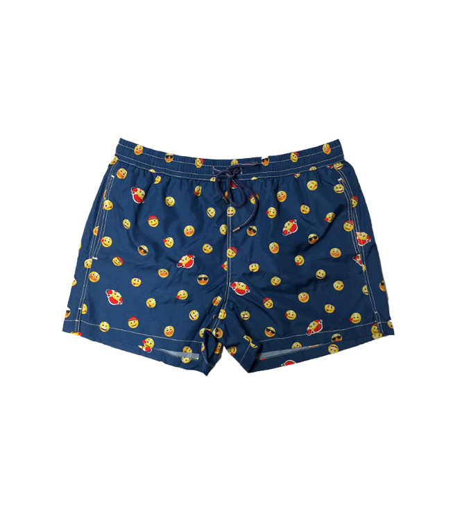 - Outlet - shorts mare in nylon traspirante a fantasia