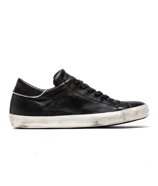 Philippe Model - Outlet - sneaker in pelle paris black