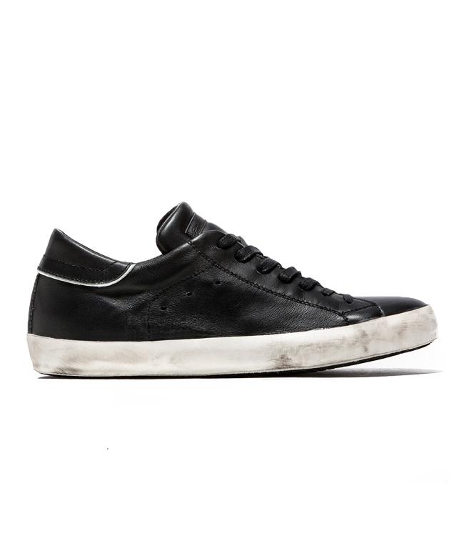 Philippe Model - Saldi - sneaker in pelle paris black