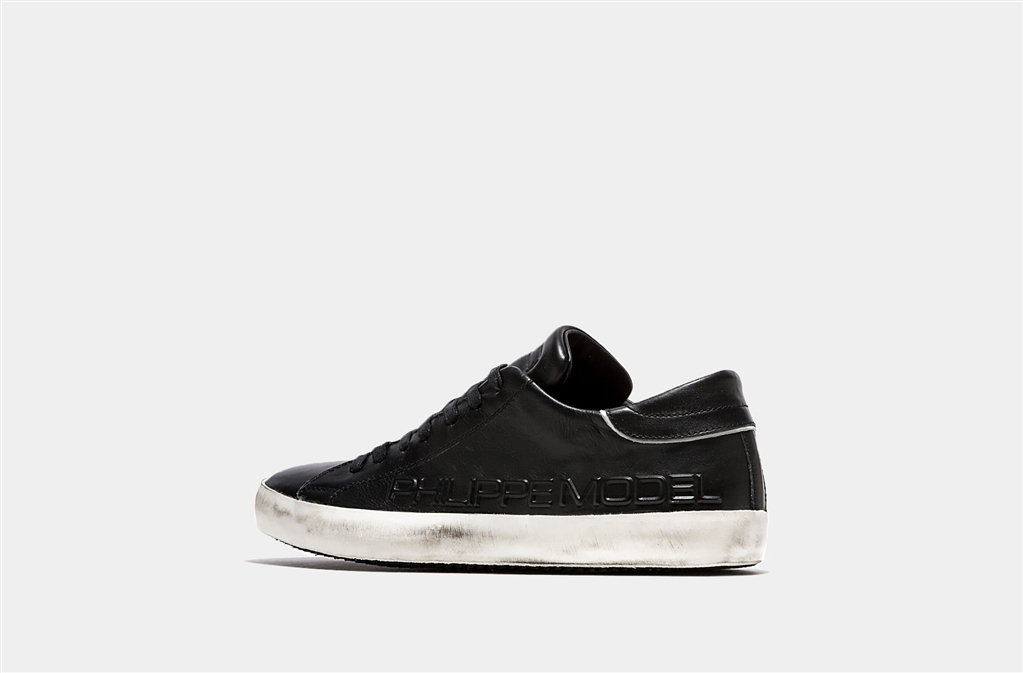Philippe Model - Saldi - sneaker in pelle paris black 1