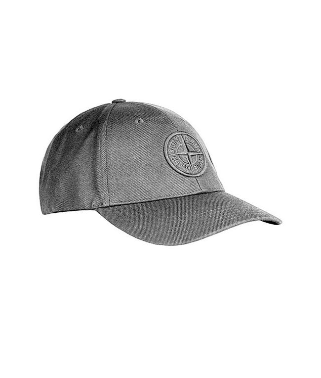 Stone Island - Accessori - cappellino grigio