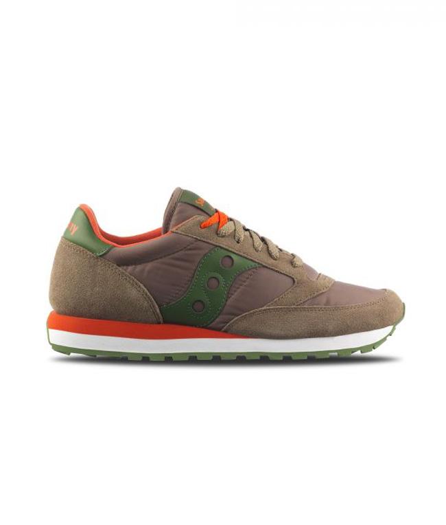 Saucony - Scarpe - Sneakers - SNEAKERS JAZZ O' LIGHT BROWN/GREEN