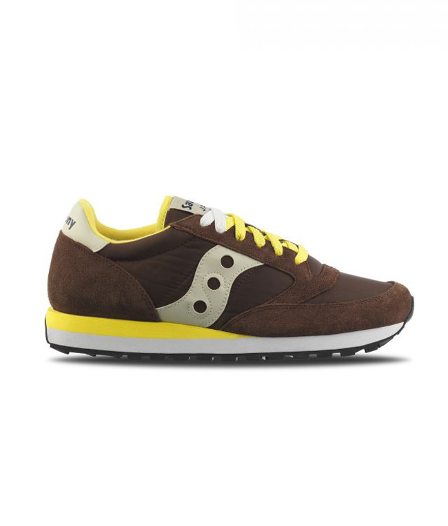 Saucony - Scarpe - Sneakers - SNEAKERS JAZZ O' BROWN/YELLOW
