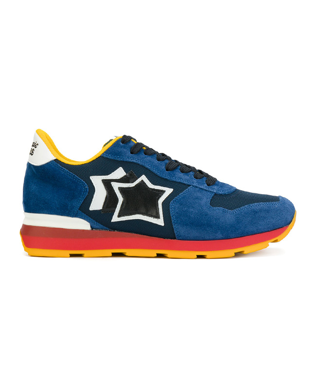 Atlantic Stars - Scarpe - Sneakers - sneakers antares in suede blu scuro