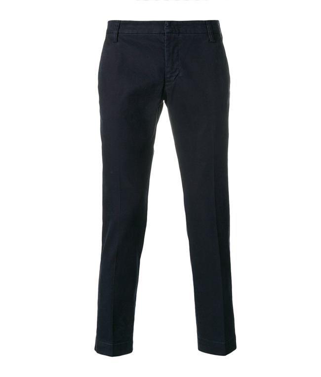 Entre Amis - Outlet - pantalone tk america lungo blu