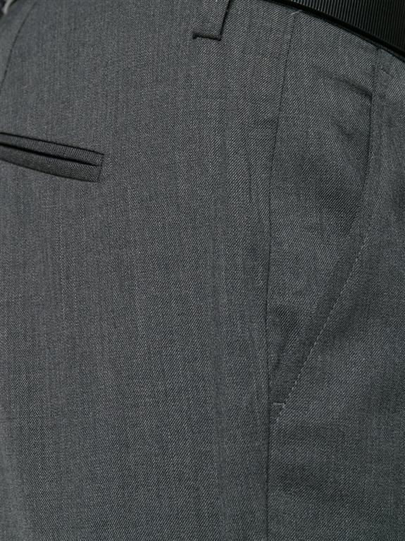 Entre Amis - Saldi - pantalone lana tk america corto grigio scuro 1