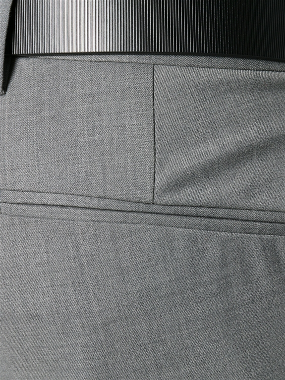 Entre Amis - Saldi - pantalone lana tk america corto grigio 1