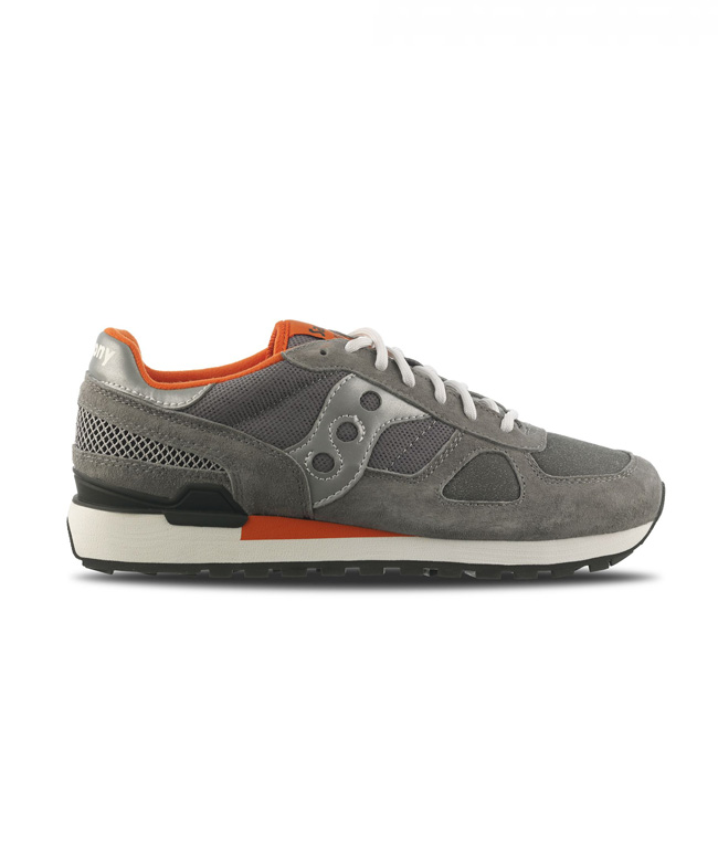 Saucony - Scarpe - Sneakers - sneakers shadow o' limited edition grey/silver/light red