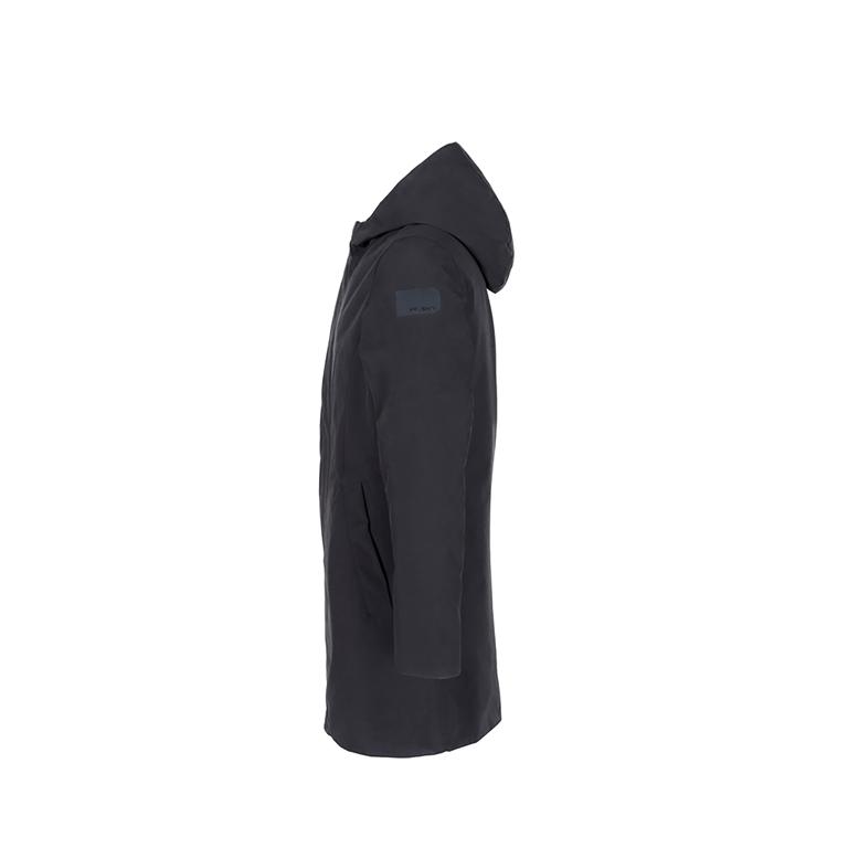 Museum - Saldi - broker parka in microfibra con cappuccio black 1