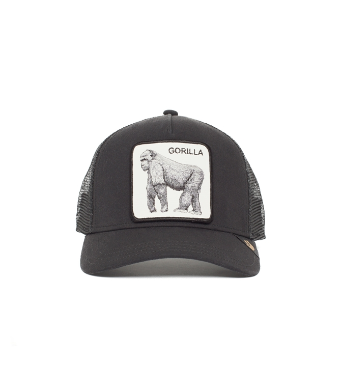 Goorin Bros - Cappelli - trucker baseball hat gorilla black 1