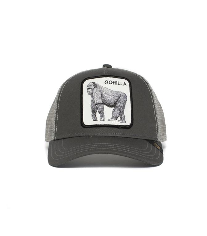 Goorin Bros - Cappelli - trucker baseball hat gorilla grey 1