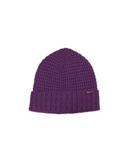 Bark - Outlet - cappello con risvolto viola