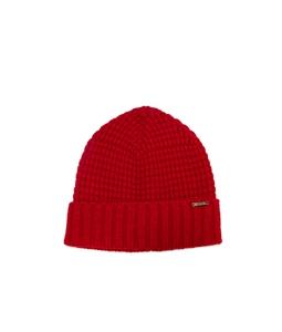 Bark - Outlet - cappello con risvolto rosso