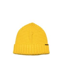 Bark - Outlet - cappello con risvolto giallo