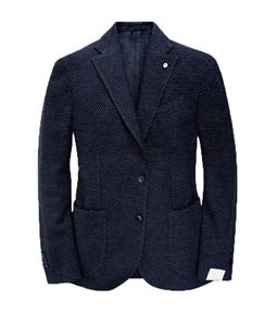 Luigi Bianchi Mantova - Outlet - giacca in lana blu