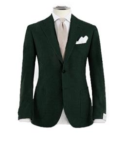 Luigi Bianchi Mantova - Saldi - giacca pura lana verde