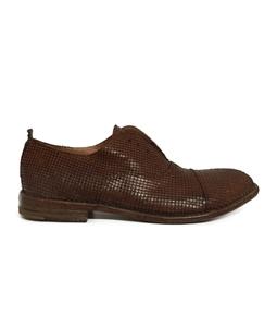 Moma - Outlet - scarpa chiusura alla francese cuoio