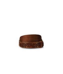 "Orciani - Cinture - cintura nobuckle ""dive"" in pelle e tessuto cuoio"
