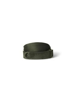 "Orciani - Cinture - cintura nobuckle""suede"" in camoscio e tessuto militare"