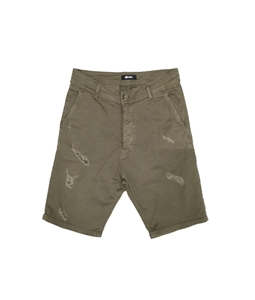 Stilosophy Industry - Outlet - bermuda in tela di cotone verde militare