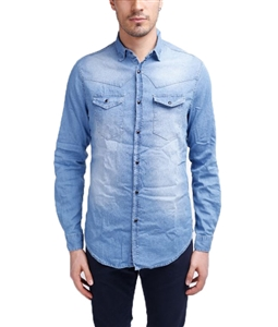 Stilosophy Industry - Outlet - camicia texas man denim chiaro