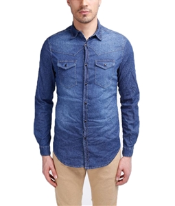 Stilosophy Industry - Outlet - camicia texas man denim scuro