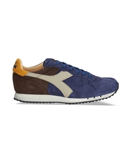 Diadora Heritage - Outlet - trident s sw blu insegna
