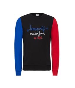 Le Coq Sportif - Maglie - Felpe - felpa tricolore 1882 nera