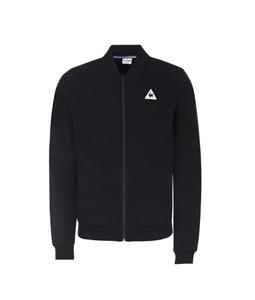 Le Coq Sportif - Saldi - felpa con zip tricolore nera