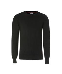 Peuterey - Maglie - maglia in cotone-lana nera