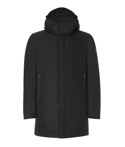 Peuterey - Giubbotti - giacca imbottita in piuma nera
