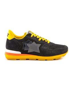 Atlantic Stars - Scarpe - Sneakers - sneakers antares in suede seppia black tricolor