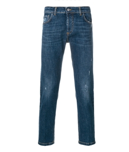 Entre Amis - Jeans - jeans 5 tk denim corto